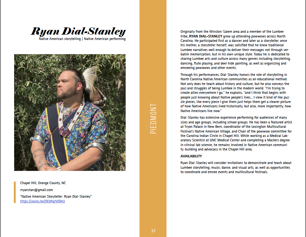 Artist profile for Ryan Dial-Stanley (download file for full text)